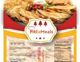 #22 for Design a Food Label for a Meal Prep Company by Mahbub33