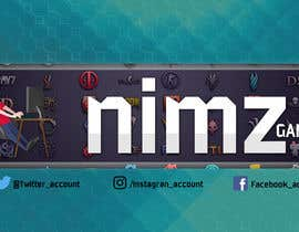 nº 122 pour Design channel art/banner for a new Youtube channel (Gaming) par Javiian16