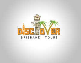 #96 pentru Logo Design for Discover Brisbane Tours de către logodancer