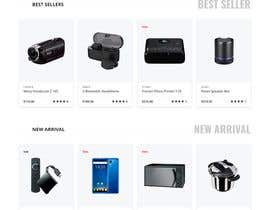 #11 para Design a Website Landing page for a Tech Retail store. por adreetanipa