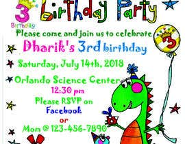 #13 for Kid's birthday party invitation by transparentphoto