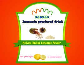 #3 for Design sticker label for powdered drink by MARUF01733039584