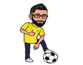 #20 for Soccer players ilustrations af Arfankha