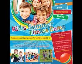 #21 untuk kids summer fitness camp poster oleh savitamane212