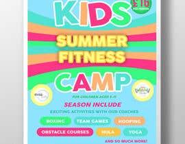 #10 untuk kids summer fitness camp poster oleh montejopau