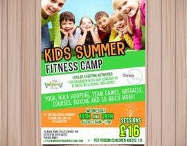 #7 untuk kids summer fitness camp poster oleh isamendoza