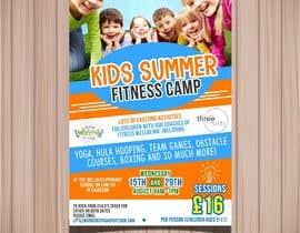 #16 untuk kids summer fitness camp poster oleh isamendoza