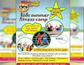 #17 untuk kids summer fitness camp poster oleh shumi82