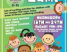 #22 untuk kids summer fitness camp poster oleh Riyama