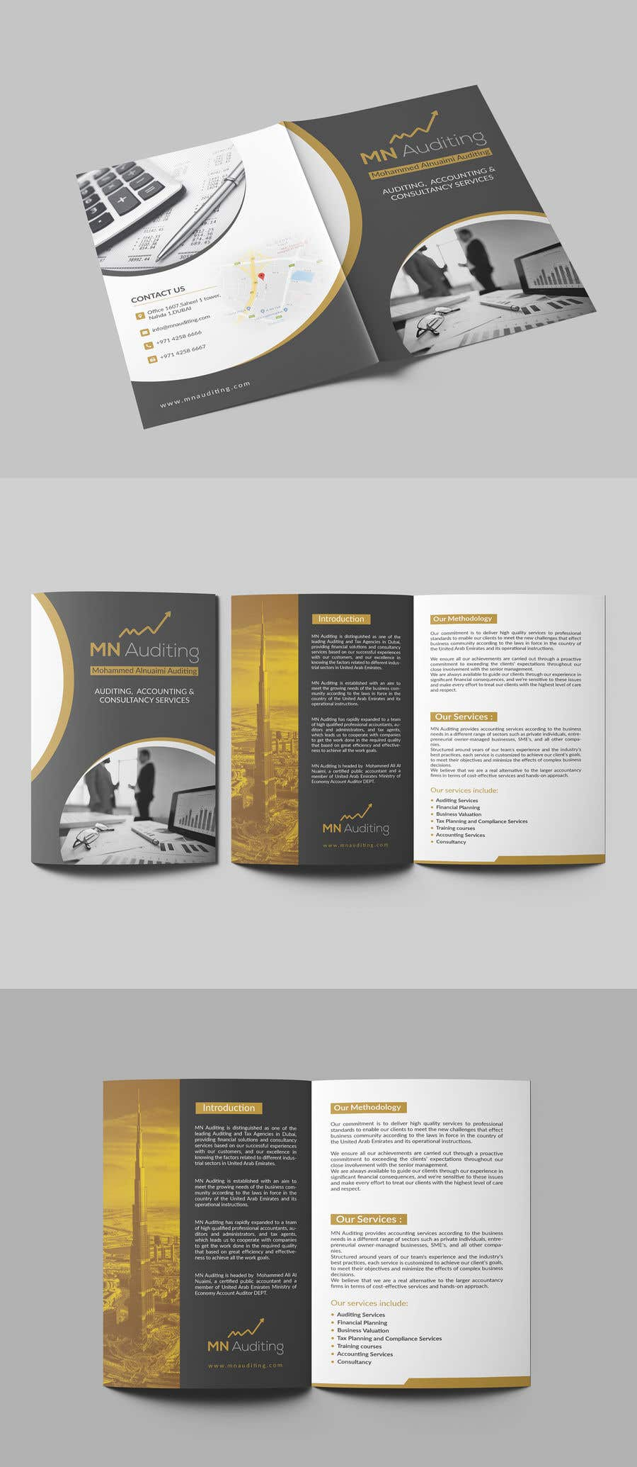 Entry #22 by Pixelgallery for Design company profile