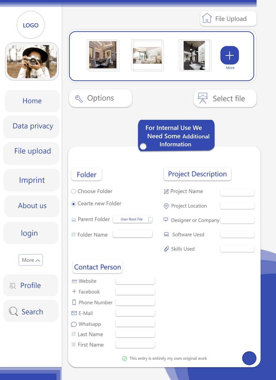 Contest Entry 10 For Create A Joomla Template Image Upload And Sharing It By
