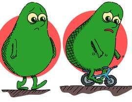 "#141 for Design ""Mr Avocado"" for Children's Book af CiroDavid"