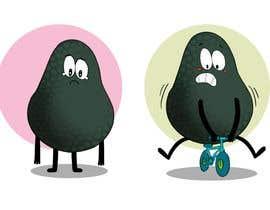 """#153 for Design """"Mr Avocado"""" for Children's Book af andrewzc00"""