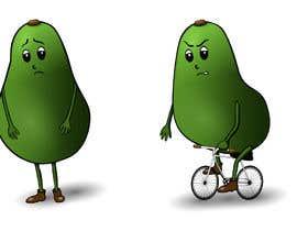 """#89 for Design """"Mr Avocado"""" for Children's Book af ealiyevahseynova"""