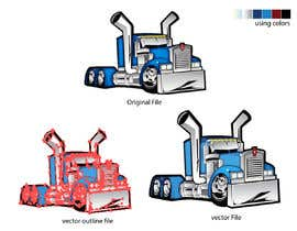 nº 16 pour vector and clean up truck par darbarg