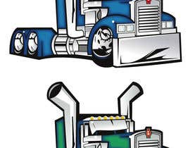nº 26 pour vector and clean up truck par izoka01