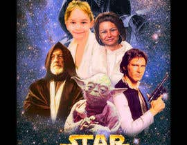 #88 cho Add my nephew to a Star Wars poster or scene bởi ccet26