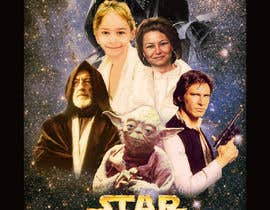 #89 cho Add my nephew to a Star Wars poster or scene bởi ccet26