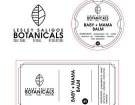 #6 para Redesign 2 editable labels and business card for my health & beauty business. por arthur2341