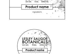 #12 para Redesign 2 editable labels and business card for my health & beauty business. por gabrielcarrasco1