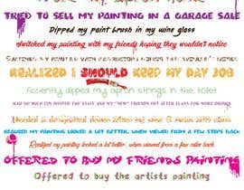 #2 untuk Design a fun poster for our Paint Studio oleh staceyErion