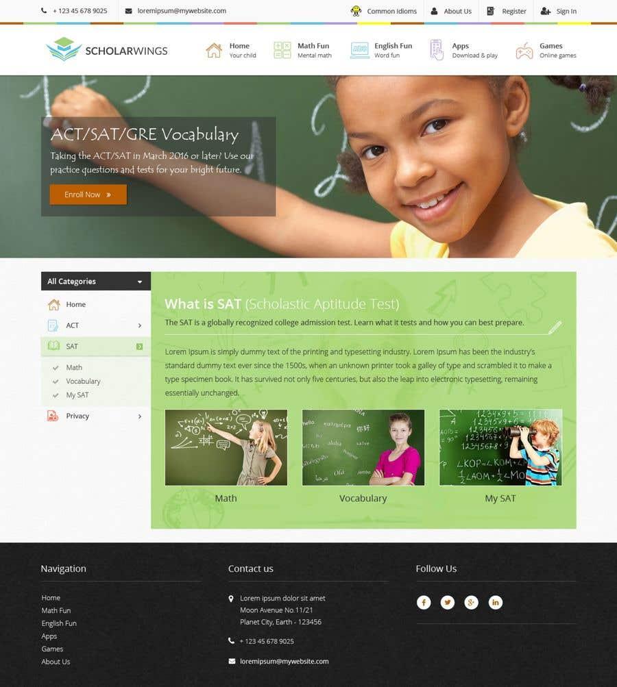 Penyertaan Peraduan #10 untuk Design a Logo and website mockup