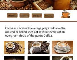#14 for Design a Website Mockup for Coffe Company Profiles af bagasfinjang