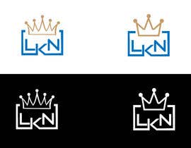 """#79 untuk Need a logo made for my brand. Just the letters """"LKN"""" and a crown on top oleh daniyalhussain96"""