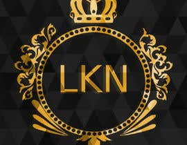 """#18 untuk Need a logo made for my brand. Just the letters """"LKN"""" and a crown on top oleh Andryel"""