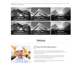 kethketh tarafından Design a Website Mockup for Architect için no 24
