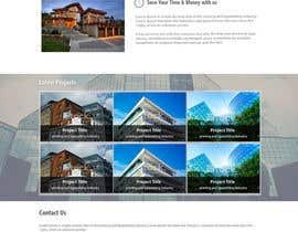 kethketh tarafından Design a Website Mockup for Architect için no 45