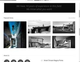 lassoarts tarafından Design a Website Mockup for Architect için no 30