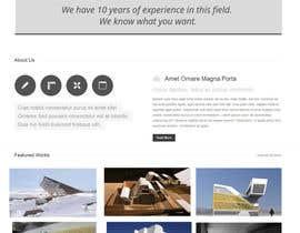 lassoarts tarafından Design a Website Mockup for Architect için no 44