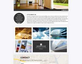 gravitygraphics7 tarafından Design a Website Mockup for Architect için no 48