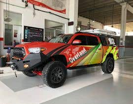 #13 for Car Vinyls Graphic Design for Expedition truck Adventure Trip by aariankashif