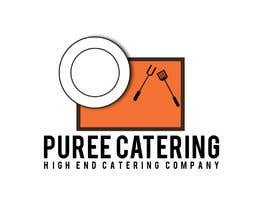 nº 10 pour high end food catering company, called ( Puree ) . -something simple elegant and modern .  - one color only to use ( black, or dark blue, or maroon ).    -your creative ideas are needed i want to see diferent options. par MezbaulHoque