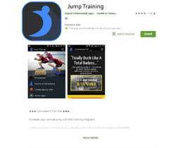 #125 pentru Launcher icon for sports app (vertical jump training) de către shahidulislam606