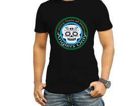 #34 para Design a skull/calavera fishing t-shirt por nagimuddin01981