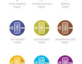 mobin90 tarafından Design some Icons for mobile repair website için no 31