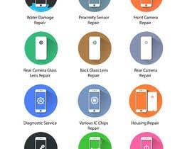 GoldenAnimations tarafından Design some Icons for mobile repair website için no 28