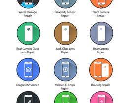 GoldenAnimations tarafından Design some Icons for mobile repair website için no 29