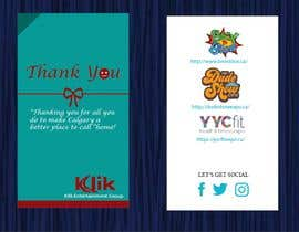 #35 cho Branded thank you cards bởi sohanbsl86
