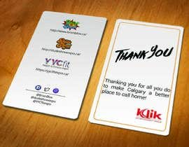 #33 cho Branded thank you cards bởi colormode