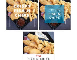 #3 para Design a fish and chip banner de ccmarlow