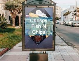 #31 para Design a fish and chip banner de mohamag58