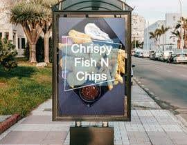 #33 para Design a fish and chip banner de mohamag58