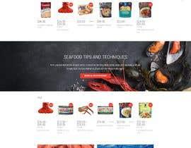 nº 30 pour Homemade FoodS Website par onrank