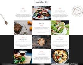 nº 13 pour Homemade FoodS Website par jubaed