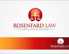 #295 para Logo Design for Rosenfarb Law por SamirGajjar