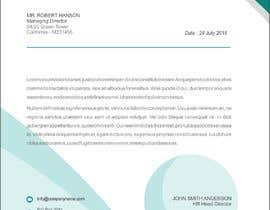 Nro 15 kilpailuun Design a professional letterhead käyttäjältä dhananjayspg